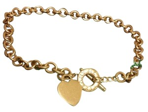 Tiffany & Co. Tiffany & Co heart and toggle choker