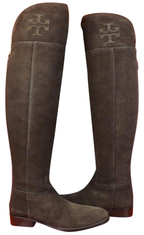 753e6824885248 Tory Burch Cafe Simone Suede Over The Knee Split Reva Riding Boots ...