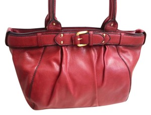 Apostrophe Satchel in Red