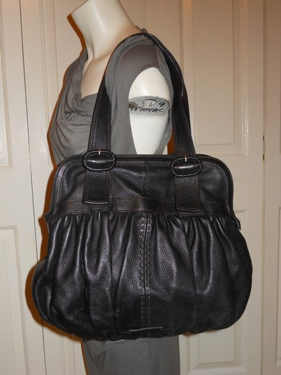 Cole Haan Leather Hcc Tote in black