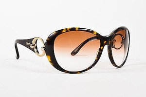 Gucci Gucci Brown Tortoise Gradient Lens Round Sunglasses