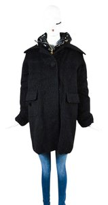 Moncler Wool Double Layered Coat