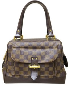 Louis Vuitton Lv Damier Canvas Tote in brown