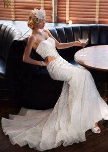 David's Bridal A126030033 Wedding Dress