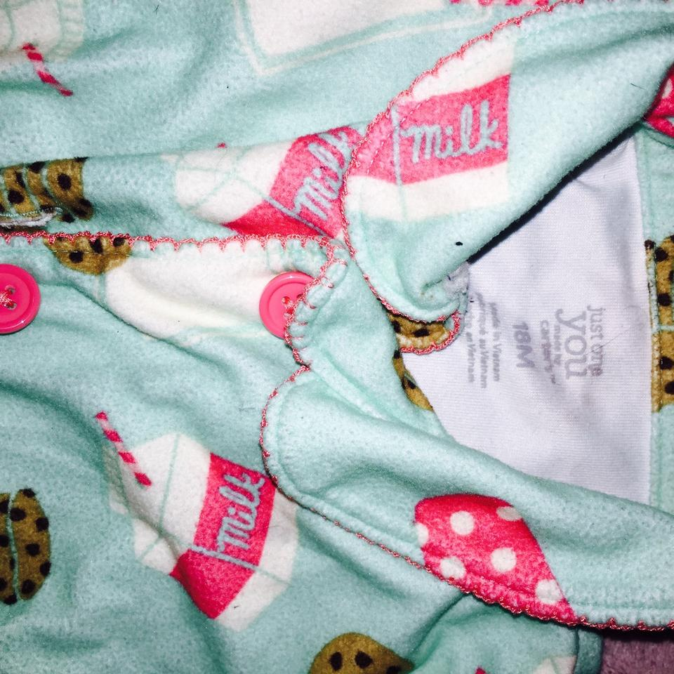 519605dca Carter's Green and Pink Infant Pajamas 18 Months Activewear. Size: 6 ...