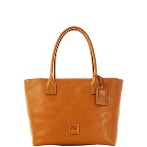 Dooney & Bourke Russel Florentine Leather Tote in Natural