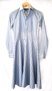 Ralph Lauren short dress Blue Shirt Stripes Preppy on Tradesy