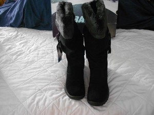 Baffin Slouch Design Waterproof Made In Canada Black Boots