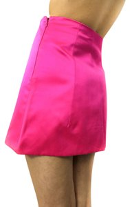 Prada Traffic Stopper Mini Skirt Hot Pink
