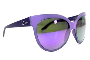 Dior Dior Paname Purple Cat Eye Mirrored Sunglasses New O5RTE