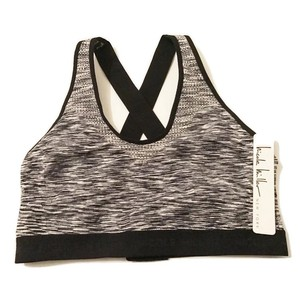 Nicole Miller Size MEDIUM NEW Nicole Miller Criss Cross Sports Bra