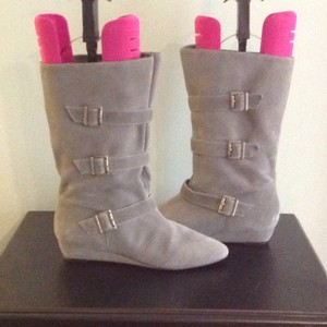 3c44c0437fe0 Grey Steve Madden Boots   Booties - Up to 90% off at Tradesy