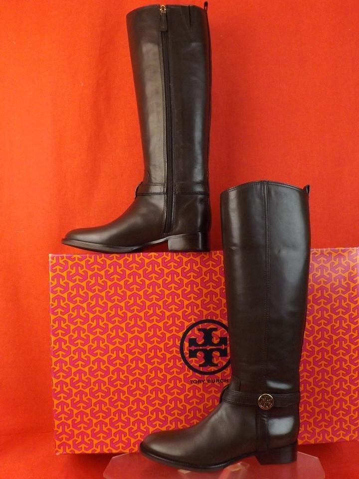 16b787e1d Tory Burch Brown Bristol Coconut Leather Gold Reva Tall Harness ...
