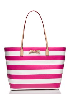 Kate Spade Tote in Pink & Cream