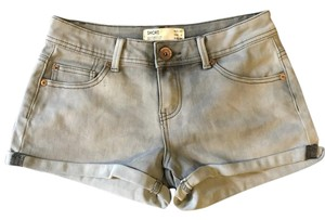 Cuffed Shorts Gray