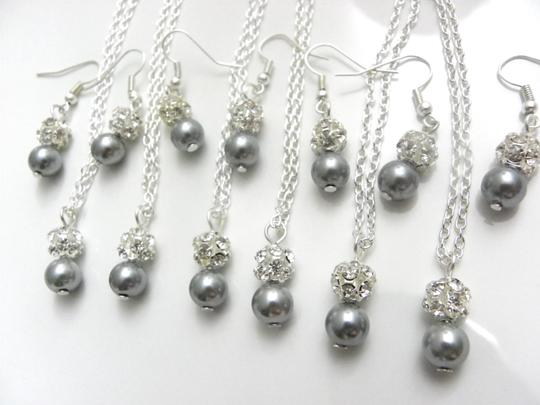 Preload https://item2.tradesy.com/images/grey-pink-cream-white-of-6-necklaces-and-earrings-of-bridesmaid-necklaces-jewelry-set-1998056-0-0.jpg?width=440&height=440