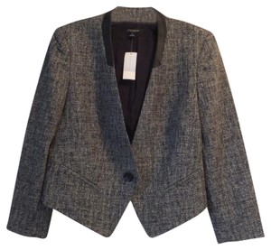 Ann Taylor Black Tweed Blazer