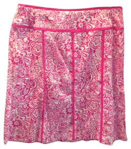 Norton McNaughton Skirt Pink and White