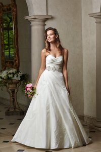 Watters Wtoo By Watters 14414 Strapless Bridal Gown Wedding Dress