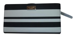 Kate Spade Kate Spade BonBon Black Stripe Stacy Wallet New With Tags