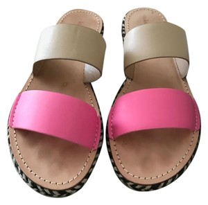 Kate Spade Flats Size 10 Natural and Pink Sandals
