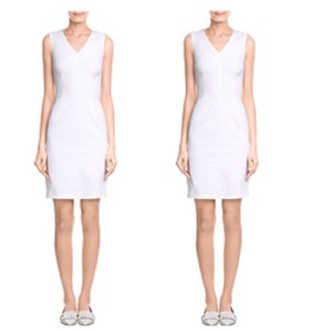 Piazza Sempione V-neck Sheath Dress