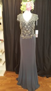 Jovani Grey 92613a Dress