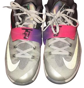 Nike Pink, purple, silver, gray Athletic