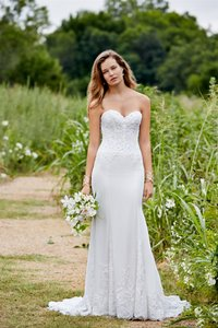 Watters Love Marley By Watters 54204 Strapless Lace Bridal Gown Wedding Dress