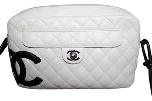 Chanel Cambon Quilted Leather Shoulder Bag