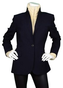 Veronica Beard Wool Turtleneck Dickey Blazer