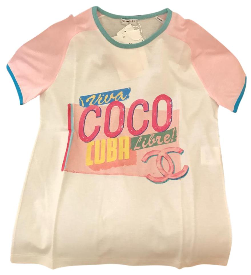 Chanel t shirt chanel t shirt logo the image kid has it for Chanel logo t shirt to buy