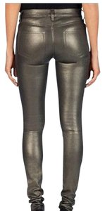 J Brand Skinny Pants Gold