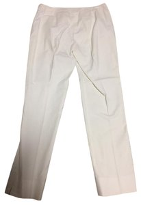Lafayette 148 New York Straight Pants White