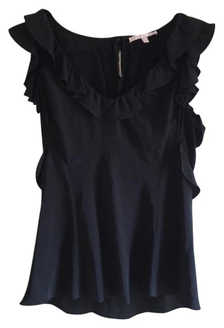Preload https://img-static.tradesy.com/item/19981295/rebecca-taylor-black-silk-night-out-top-size-4-s-0-2-650-650.jpg