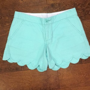 Lilly Pulitzer Dress Shorts Pool house blue (mint green)