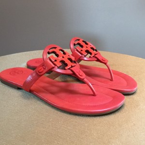 Tory Burch Dark poppy red Sandals
