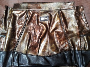 MICHE Abagail Magnetic Interchangeable Cover Satchel in copper