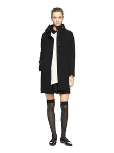 Kate Spade bow neck wool coat