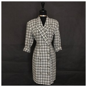 LaBelle Checkered Check Plaid Dress