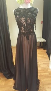 Jovani Black/ Nude Jv92848b Dress