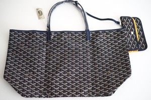 Goyard Tote in Navy Blue