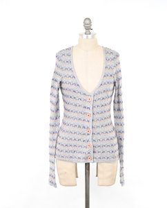 Anthropologie Mohair Knitted Knotted Sweater