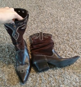 Other Cowboy Slouchy Brown Boots