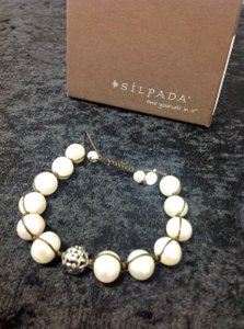 Silpada Rugged Pearls Bracelet