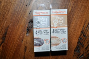 Sally Hansen 2 Boxes Salon Insta Gel Strips