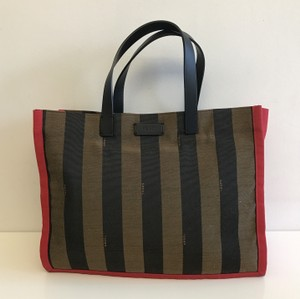 Fendi Simply Shopping Tote in Brown