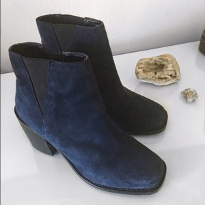 Shellys London Navy Boots