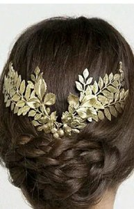 Other Headpiece, Bridal, Headband, Bridal Gold Plated Hair Accessory