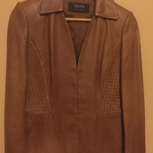 Dana Buchman Leather Jacket